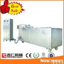 water oil mixed continuous fryer food production line