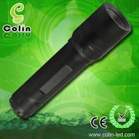 XPG2-R5 350lm rechargeable led flashlight with 1x18650 li-ion battery or 3xAAA dry battery