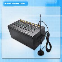 32 sim cards Fixed Wireless Terminal /gateway /cellulaar Etross-GSM FWT 8132 Displays caller ID