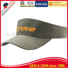 wholesale alibaba no top printing cheap visor cap