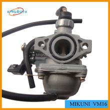 Hot sale China Dirt Bike Carburetor mikuni VM 16 mm