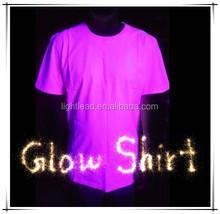 Decorative glow in the dark latest shirt designs for men 2015