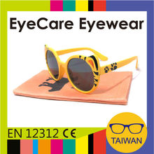Taiwan manufacturer custom logo and funny design kids sunglasses