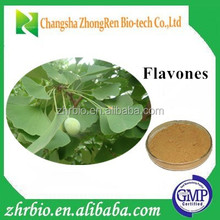 GPM factory Ginkgo Biloba Extract Powder(Flavones24%)
