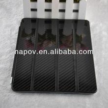 Napov - High Quality Carbon Fiber Smart Cover Case, for Ipad Air Smart Cover
