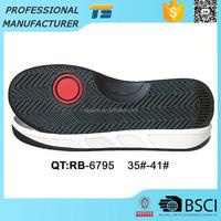 Hot sale woman's Non-slip Fashion leisure shoe rubber soles for sale