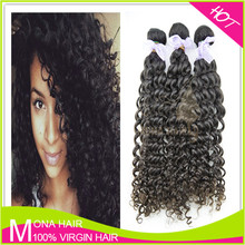 Specialized Human Virgin Hair Best Quality Raw Filipino Curly Hair Weaving