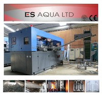 Automatic plastic stretch blow molding machine