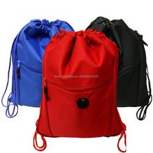 600D expandable drawstring bag drawstring backpack