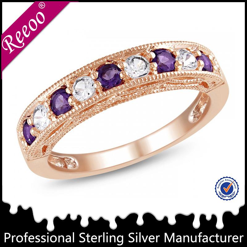 Nep Diamanten Nep Diamanten Ring Voor Mannen