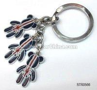 STR0566 Factory stock 2015 hot girl cheap key chain