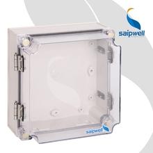 2015 Saip / Saipwell alta calidad plasstic caja eléctrica transparente recinto caja impermeable TJ-ATH-1717-1 175 X 175 X 100 mm