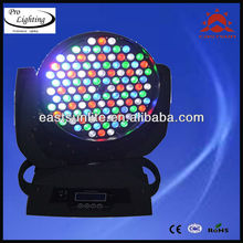New 108 3w led moving head rgbw wash light music fashion show