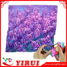 YB141 polyester microfiber fabric made cleaning cloth for eyeglass