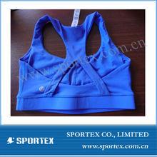 2015 OEM functional cross back ladies Sports bra , sexy sports bra top for ladies JD1204