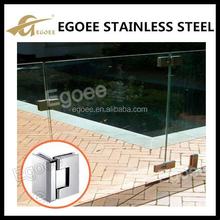 304 stainless steel hanging glass clamp, glass shelf clamp