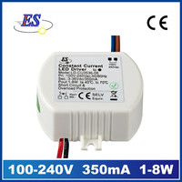 3-9W 350mA /700mA Constant Current LED Driver waterproof power supply (CE )