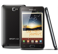 cheapest 5 inch MT6575 3G mobile phone with Android dual card dual camera GPS