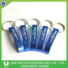 Aluminium Promotional Bottle Opener Keyring