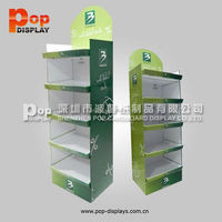 359*600 Fsdu Paper Display ,Keyboard Paper Display Shelf ,Pop 3 Tier Floor Cardboard Paper Displays