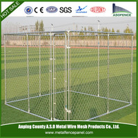 the high quality metal cheap wire mesh dog kennel for wholesale