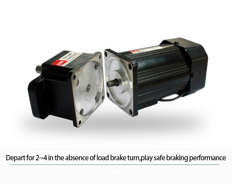 110v 220v 380v 160w Gear Motor Single Phase Ac Induction