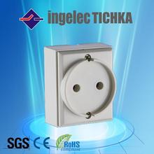 flush type wall socket 16A for africa ingelec