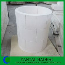 calcium silicate pipe cover perfect sanding A1 level 25-50mm fire rated products first class quality moisture resistant pipe