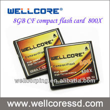 Industrial grade 8GB CF cards compact flash SLC flash type