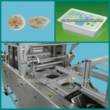 made in taiwan heat shrink film fully automatic plastic cups sealer