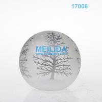 Wholesale handmade glass personalized christmas ball ornaments