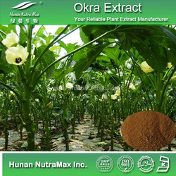 Factory supply Okra extract/Abelmoschus Esculentus extract/Skin whiten plant extract