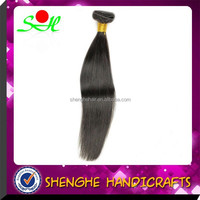 Hot Sell 22 Inch Nature Color 100%Virgin Straight Human Hair Unprocessed Peruvian Hair