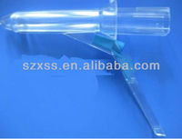 Disposable proctoscope with light source
