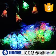 10M 80 LED Christmas Bell Fairy String Light for outdoor