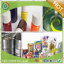 Spring coming! Pigment paste work with Liquid Packing Machine for produce food package bags or cups