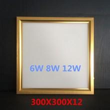 Broad-spectrum ceiling led panel light 6w 8w 12w