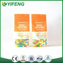 High Quality Plastic Flat Bottom Box Pouch Zipper Packaging Pouch bag