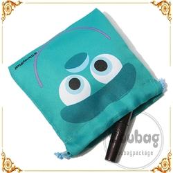 Rope Backpacks nature canvas bag drawstring bag nature color