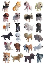ICTI small collectible puppy with 20 design