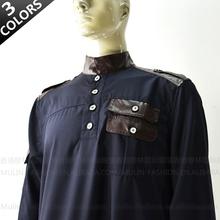 2013 Nuevo estilo de ropa al por mayor del árabe Abaya islámico para los hombres