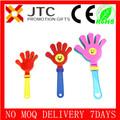 Jtc venta al por mayor a granel barato de promoción logotipo personalizado juguetes palmeros para la fiesta/deportes