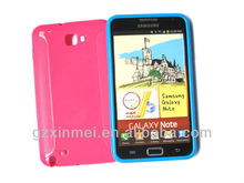 non-slip TPU cover for samsung galaxy note gt-n7000 i9220