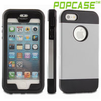 Hybrid case cover for iphone 5 s case