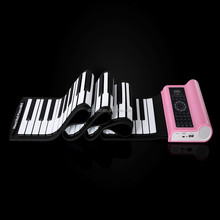 Christmas Promotional Musical roll up Piano Keyboard/ Keyboard Piano / Toy Musical Instrument
