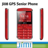 JIMI Big Keyboard Mobile Phone For Kids Pear Phone For Sale GPS Tracker With SOS Alarm Platform Ji08