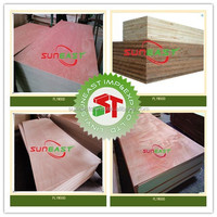 Linyi furniture grade commercial plywood,e1 glue furniture plywood