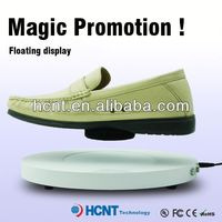 new invention ! magnetic levitating led display stand for shoe woman,latest formal shoes men