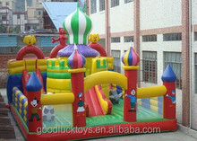 best sell inflatable combo slide bounce houses /juegos inflables