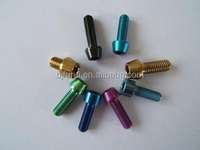 Gr2 Gr5 titanium bicycle parts in china